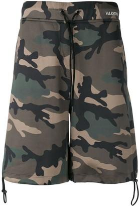 Valentino camouflage shorts