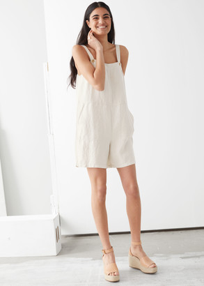 And other stories Linen Blend Romper