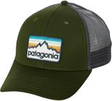 Patagonia Line Logo Badge Lopro Trucker Cap Green