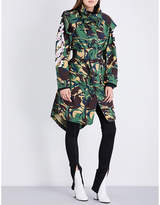 Off-White Camouflage-print cotton-drill parka coat