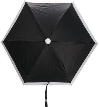 Karl Lagerfeld Paris Two-Tone Umbrella