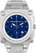 Rockwell Time CME-111 Men's 747 Stainless Steel Silver and Blue Watch