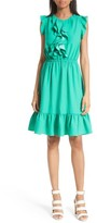 Kate Spade Women's Ruffle Fit & Flare Dress