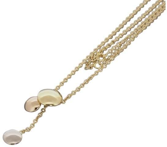 Cartier 18K Tri Color Gold Sweet Trinity Drop Pendant Necklace