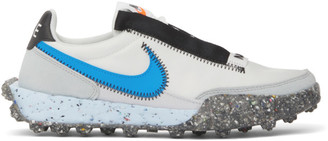 Nike White Waffle Racer Crater Sneakers