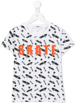 MSGM Skate T-shirt - kids - Cotton - 4 yrs