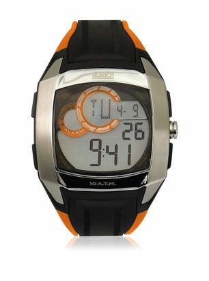 Munich Unisex Adult Digital Quartz Watch with Rubber Strap MU+128.1D