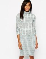 Warehouse Check Sweater