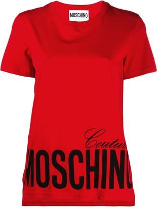 Moschino logo printed T-shirt