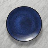Crate & Barrel Jars Tourron Blue Dinner Plate