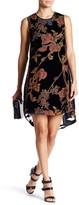 Daniel Rainn Burnout Sleeveless Hi-Lo Dress