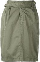 Woolrich straight skirt - women - Cotton/Spandex/Elastane - M