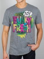 Junk Food Clothing Yo! Funky Fresh Tee-steel-m