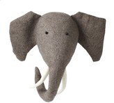 The Well Appointed House Fiona Walker England Elephant Head Wall Decor for Kids