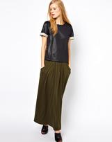 Whistles Rosa Jersey Maxi Skirt