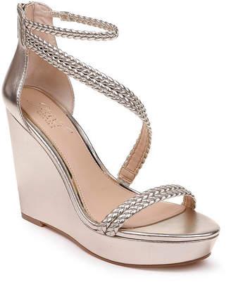 Badgley Mischka Suzy Wedge Sandals Women Shoes