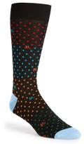 Bugatchi Men's Dot Bike Socks