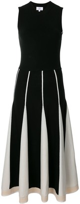 CK Calvin Klein Contrast Panel Knit Dress