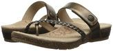 Aetrex Sandalista Lena Adjustable Thong Women's Sandals