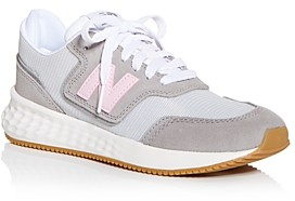 New Balance In Grey And Pink | Shop the