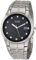 Citizen Men's BM6670-56G Dress Diamond Eco Drive Watch