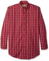 Wrangler Men's Western Classic Long Sleeve Woven Shirt