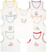 Stella McCartney Pack of 7 organic cotton tank tops - Clementina