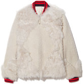 Tory Burch Bristol Jacket in Ivory, Large