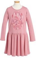 Tea Collection Momo Embroidered Dress (Toddler Girls, Little Girls & Big Girls)