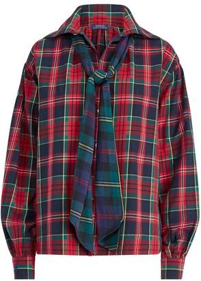 Polo Ralph Lauren Tylor Plaid Tieneck Shirt