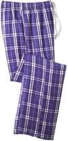 District Men's Young Flannel Plaid Pant L
