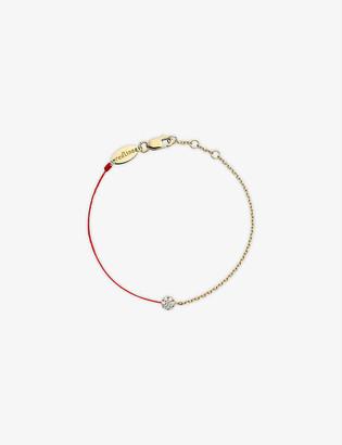 THE ALKEMISTRY Redline 18ct yellow-gold and diamond illusion chain bracelet