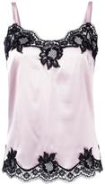 Dolce & Gabbana lace trim vest top