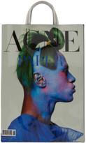 Acne Studios White Paper Baker Tote