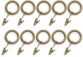 Bed Bath & Beyond Unique Decorative Gold Small 1-Inch Clamp Rings (Set of 10)