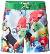 Appaman Kids Parrot Pattern Swim Trunks (Toddler/Little Kids/Big Kids)