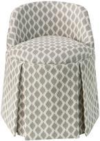 Fairfax Custom-Upholstered Vanity Stool - Seasonal