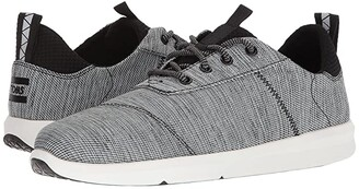 Toms Cabrillo (Black Space-Dye) Men's Lace up casual Shoes