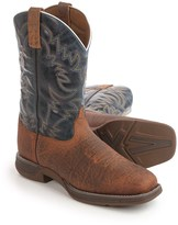 "Laredo Great Bend Cowboy Boots - 11"", Square Toe (For Men)"