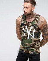 New Era Raiders Vest In Camo