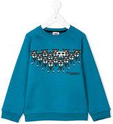 Karl Lagerfeld motif sweatshirt