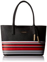 Calvin Klein Saffiano-Print Tote Bag