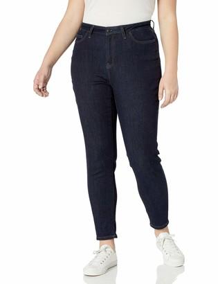 Amazon Essentials Plus Size Skinny Jean Rinse 24 Short