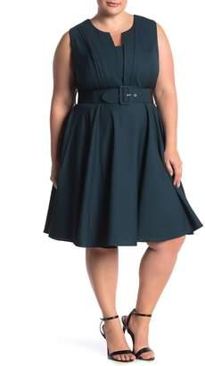 City Chic Vintage Veronica Fit & Flare Dress (Plus Size)