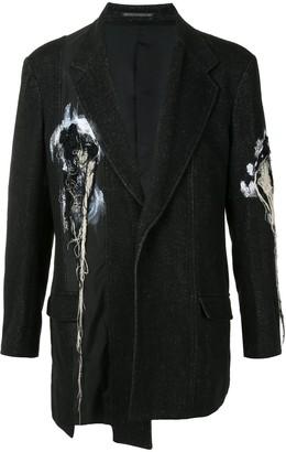 Yohji Yamamoto Panelled Deconstructed Blazer