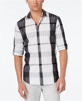 Alfani Men's Pattern Long-Sleeve Shirt, Classic Fit