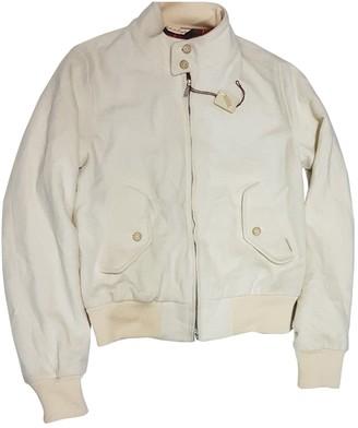 Baracuta Beige Cashmere Jacket for Women