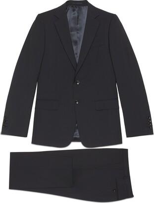 Gucci Slim fit wool mohair suit