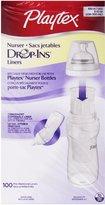 Playtex Drop In Liners for Nurser Bottles - 8 oz. 100-Count (Pack of 1)