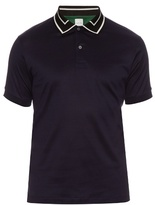 Paul Smith Contrast Collar Short-sleeved Polo